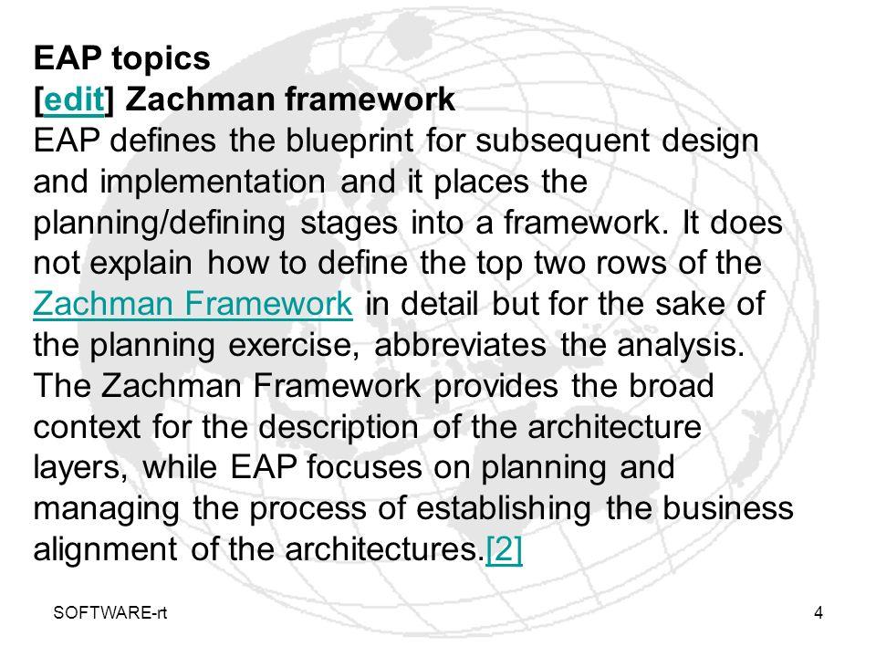 [edit] Zachman framework